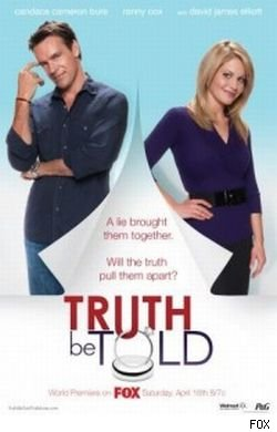 Candace Cameron Bure and David James Elliott star in the FOX movie 'Truth Be Told.'