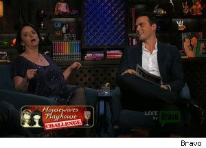 Rachel Dratch &amp; Cheyenne Jackson, 'Watch What Happens Live'