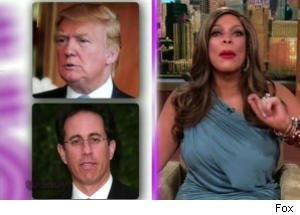 Wendy Williams Comments on Feud Between Donald Trump and Jerry Seinfeld