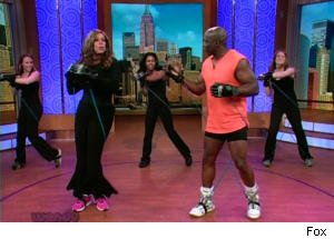 Wendy Williams Can't Keep Up With Billy Blanks During Workout Interview