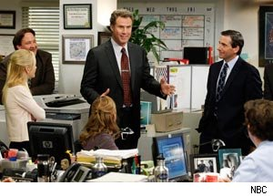 Will Ferrell, Steve Carell, The Office