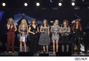 Miranda Lambert, Reba McIntire and The Judds are among the performers in tonight's 'Girls' Night Out: Superstar Women of Country.'