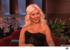 Christina Aguilera Explains National Anthem Flub on 'Ellen'