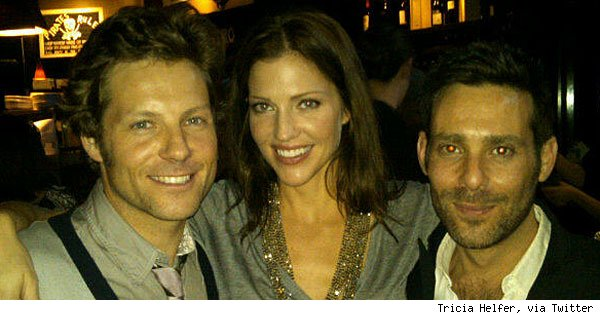 Jamie Bamber, Tricia Helfer & James Callis, '17th Precinct'