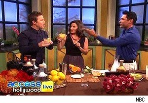 Oscar De La Hoya on 'Access Hollywood Live'