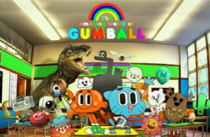 'The Amazing World of Gumball' joins 'The Looney Tunes Show' and 'Scooby-Doo:Mystery Inc.' on a Cartoon Network premiere Tuesday.
