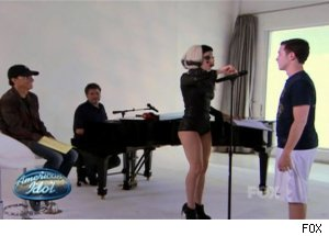 Lady Gaga & Scotty McCreery, 'American Idol'