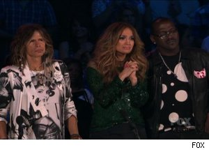 Steven Tyler, Jennifer Lopez, Randy Jackson, 'American Idol'