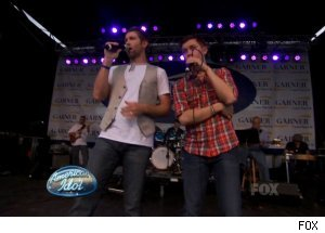 Josh Turner & Scotty McCreery, 'American Idol'