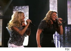 Carrie Underwood &amp; Lauren Alaina, 'American Idol'