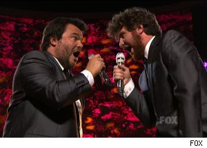 Jack Black &amp; Casey Abrams, 'American Idol' finale