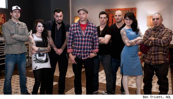 'NY Ink' Set Visit: Ami James Takes His Tattoo Talents to NYC