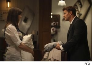 Booth has Bones stay at his apartment to protect her from sniper Jacob Broadsky on 'Bones.'
