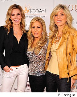 Brandi Glanville, Adrienne Maloof &amp; Marla Maples