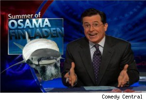 Osama Fin Laden on 'The Colbert Report'