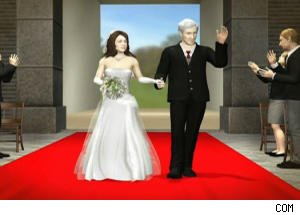 Jon Stewart Shows Animated Simulation of the Royal Wedding