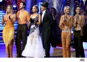 Kirstie Alley, Maksim Chmerkovskiy, Kym Johnson, Hines Ward, Chelse Kane, Mark Ballas