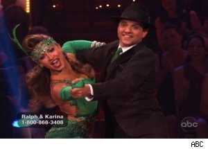 Karina Smirnoff & Ralph Macchio, 'Dancing with the Stars'