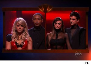 Week 8 Elimination, 'Dancing with the Stars'