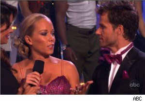 Kendra Wilkinson and Louis van Amstel on 'DWTS' Exit