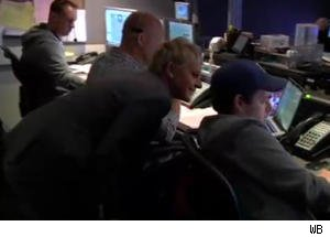 Ellen Scares a Control Room Staffer