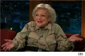 Betty White on 'The Late, Late Show With Craig Ferguson'