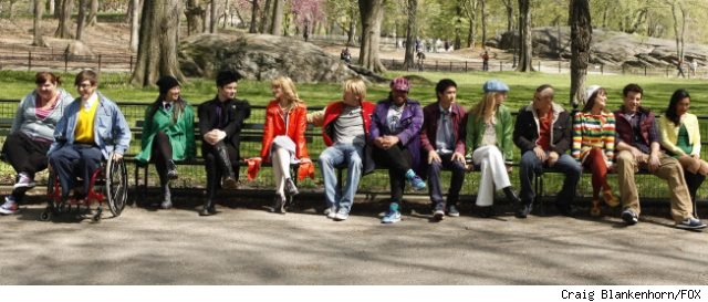 The 'Glee' cast invade New York in the season 2 finale