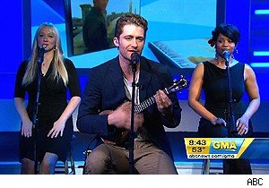 MAtthew Morrison on 'Good Morning America'