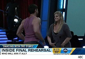 Maksim Cmerkivskiy and Kirstie Alley on 'Dancing With the Stars'