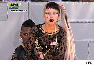 Lady Gaga on 'Good Morning America'