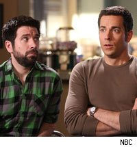 Joshua Gomez and Zachary Levi