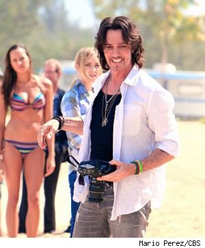 Rick Springfield guests as a womanizing fashion photographer on tonight's episode of  'Hawaii Five-O.'