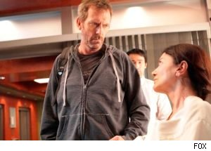 House confronts his latest patient, a performance artist, on the season 7 finale of 'House.'