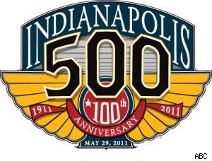 The 100th running of the Indianapolis 500 begins at noon on ABC.