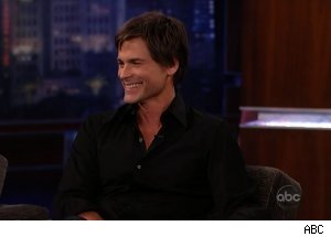 Rob Lowe, 'Jimmy Kimmel Live'