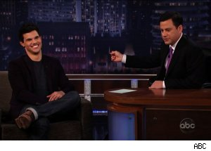 Taylor Lautner, 'Jimmy Kimmel Live'