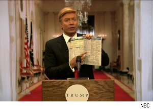 Jimmy Fallon as Donald Trump, 'Late Night with Jimmy Fallon'