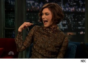 Kiera Knightley, 'Late Night with Jimmy Fallon'