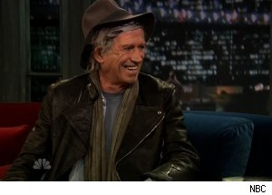 Keith Richards, 'Late Night with Jimmy Fallon'