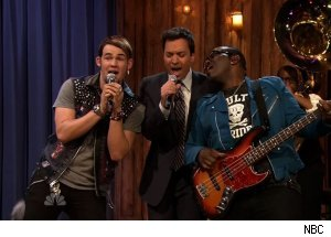 Randy Jackson &amp; James Durbin, 'Late Night with Jimmy Fallon'