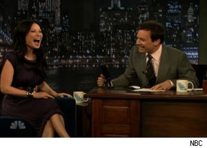 Lucy Liu, 'Late Night with Jimmy Fallon'