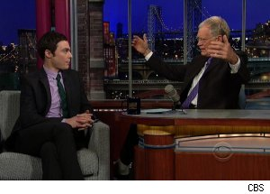 Jim Parsons, 'Late Show with David Letterman'