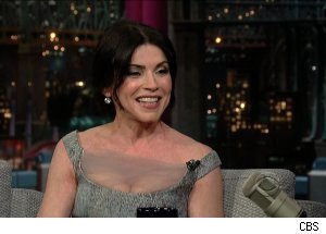 Julianna Margulies, 'Late Show with David Letterman'