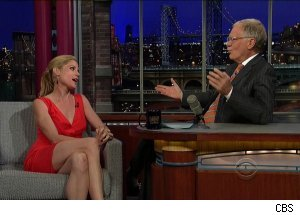 Julie Bowen, 'Late Show with David Letterman'