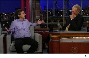 Ray Romano on 'Late Show With David Letterman'