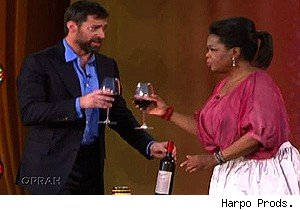 Hugh Jackman on 'The Oprah Winfrey Show'
