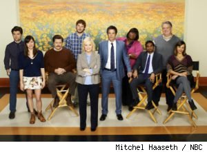 Parks and Recreation cast for season 3