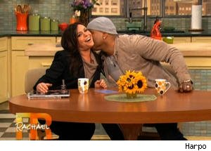 Rachael Ray Gets Touchy-Feely With LL Cool J
