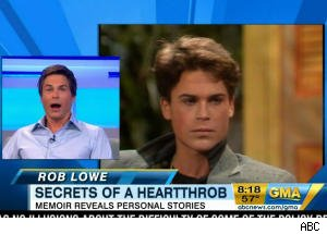 Rob Lowe is Shocked by His Appearance in Old 'GMA' Interview