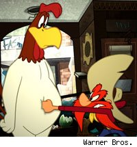 Foghorn Leghorn and Yosemite Sam